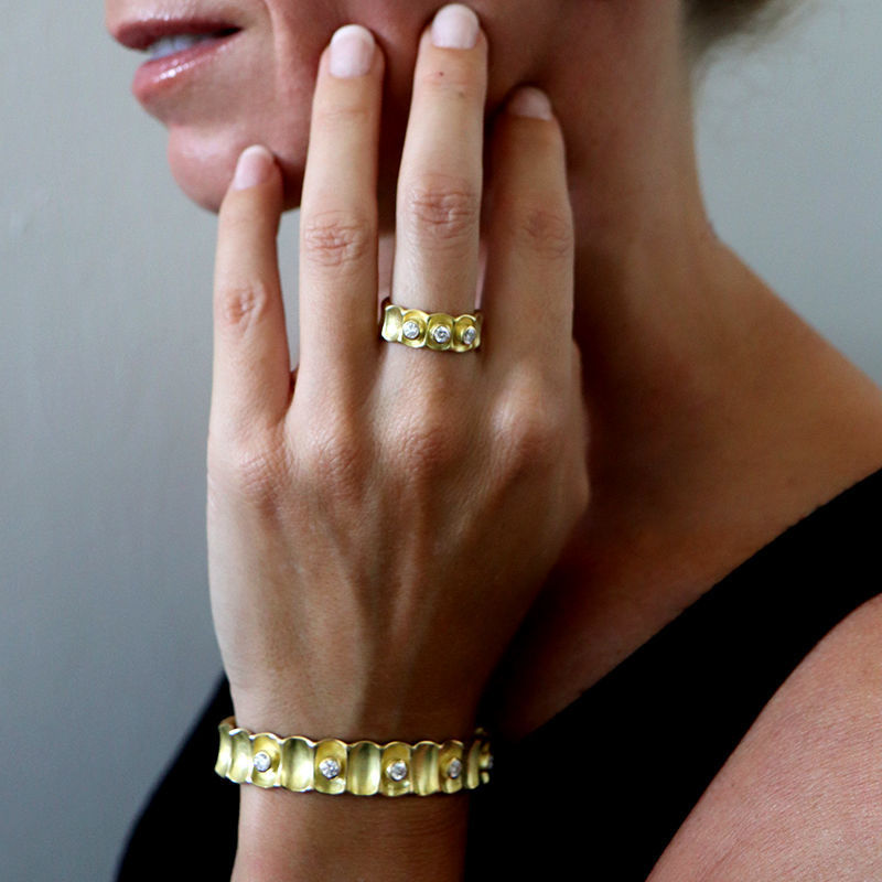 Picture of Gold Bamboo Cuff